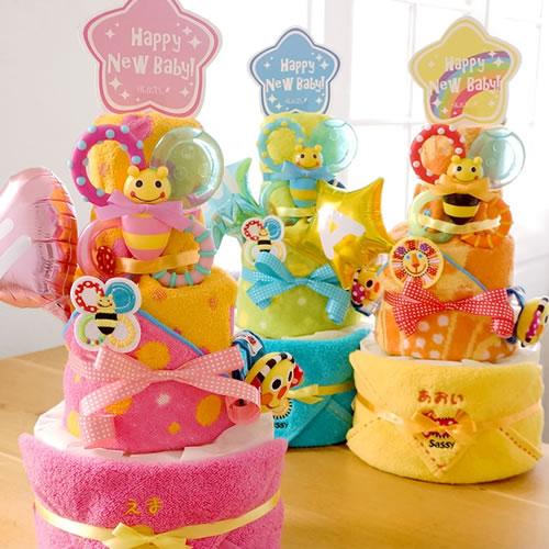 ディズニー KIDEA タオルおむつケーキ