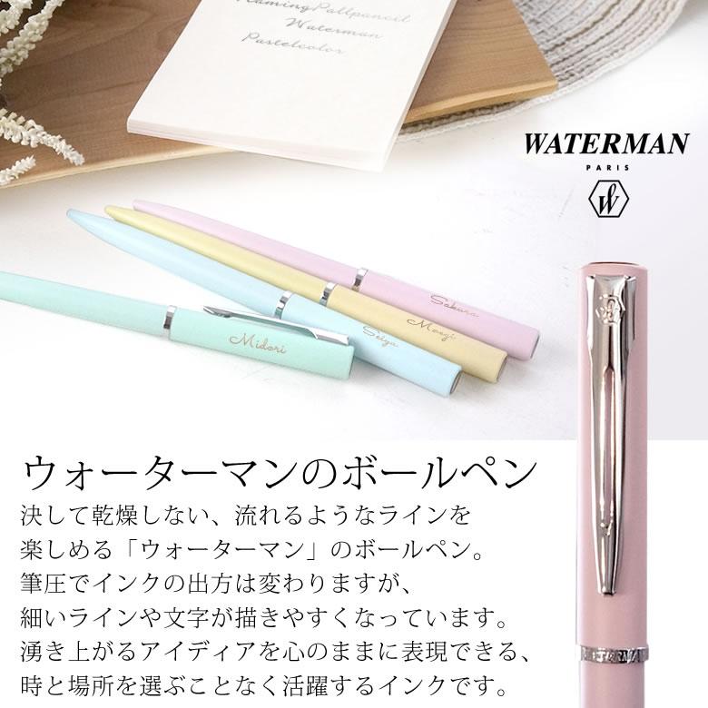 ウォーターマンのボールペン