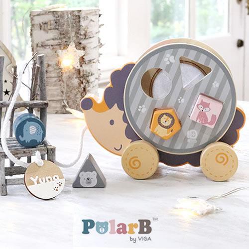 ポーラービー(PolarB)名前入りソーティングプルトイ・はりねずみ