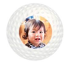 写真タイプ ゴルフボール