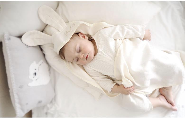 赤ちゃんの快適さにもこだわったタオル