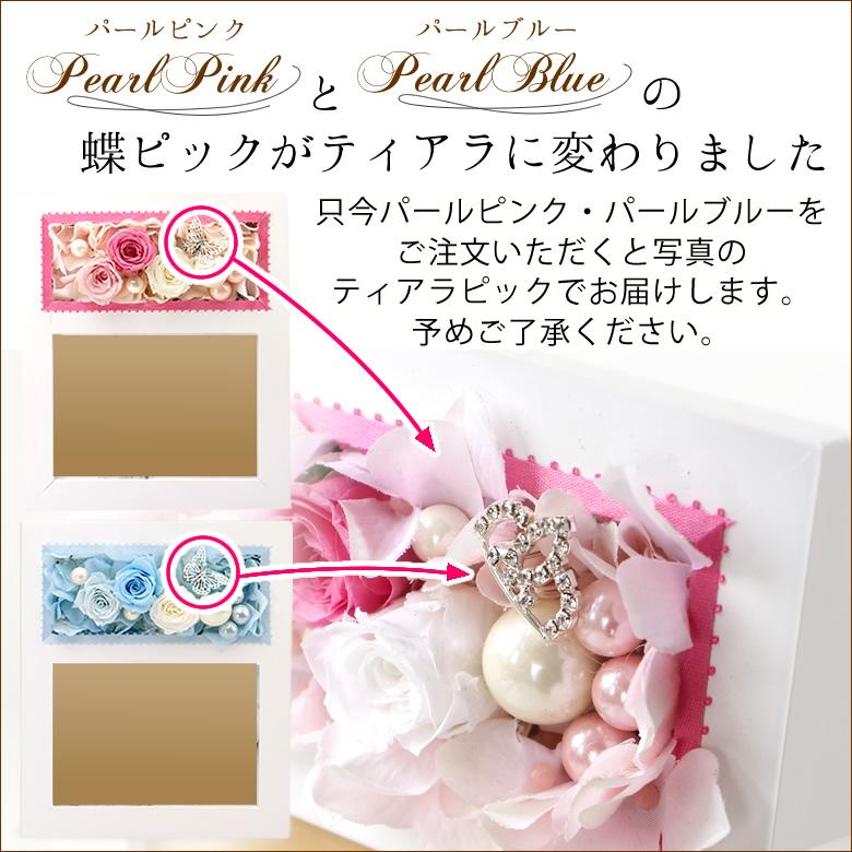 パールピンク・パールブルー蝶ピック変更